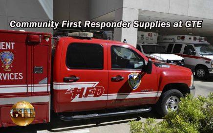 Community First Responder Supplies