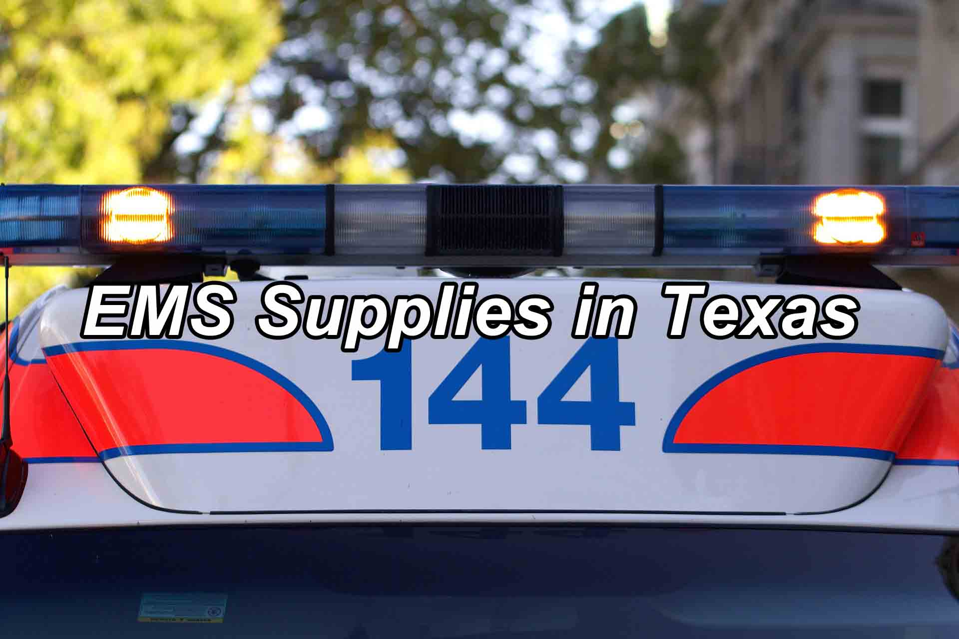 Ems Supplies In Texas Global Tec Enterprises Inc