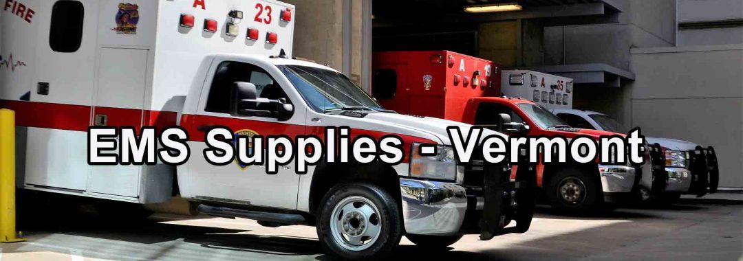 EMS Supplies - Vermont