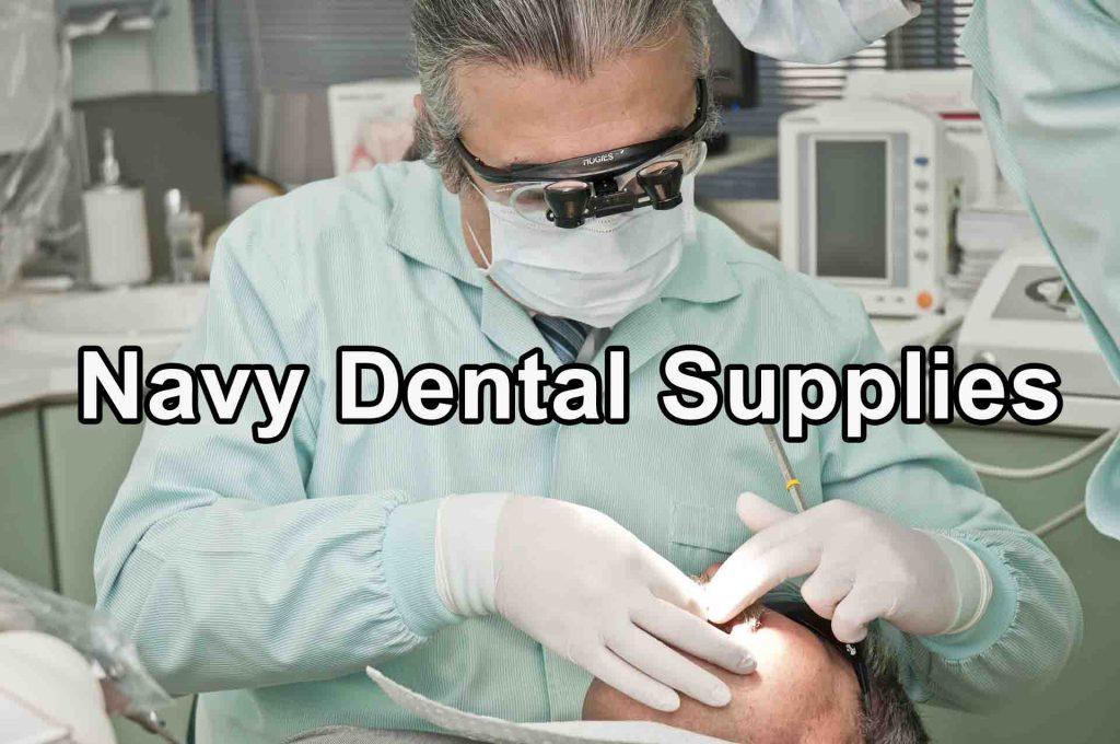 Navy Dental Supplies